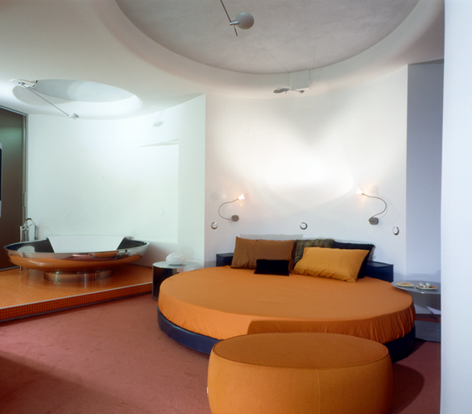 КВ БЮРО Архитектурное бюро Квартира на проспекте Маршала Жукова спальня кровать фото