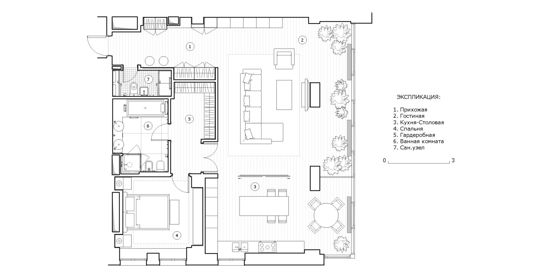 КВ Бюро Квартира на Студенческой план