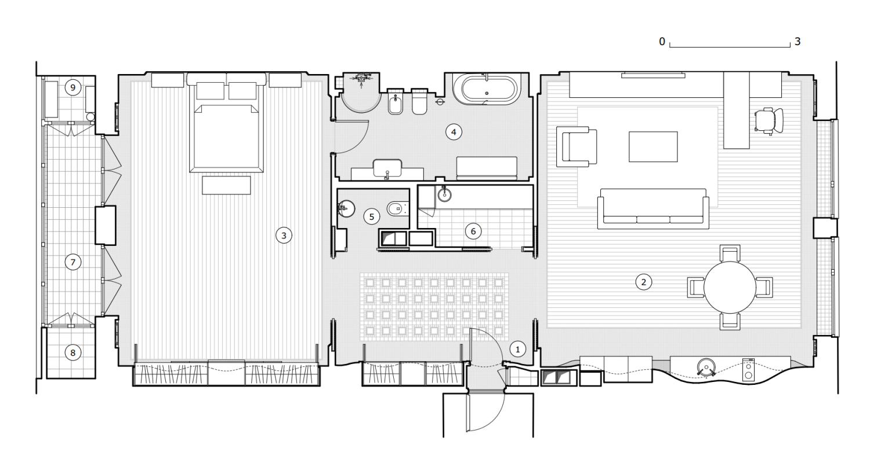 КВ Бюро План квартиры на Усачева