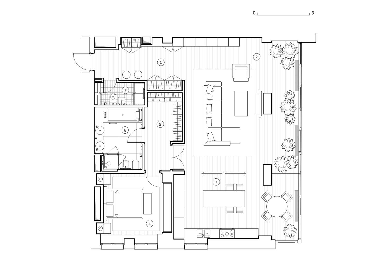 КВ Бюро План квартиры на Студенческой