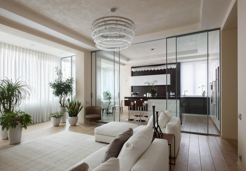 КВ Бюро Архитектурный проект квартиры в современном стиле
