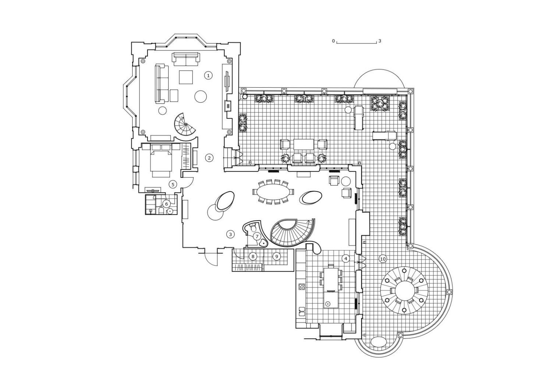 КВ Бюро Пентхаус на Береговой план 2 этажа