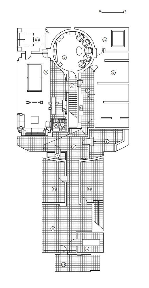 КВ Бюро Загородный дом в подмосковье план дома