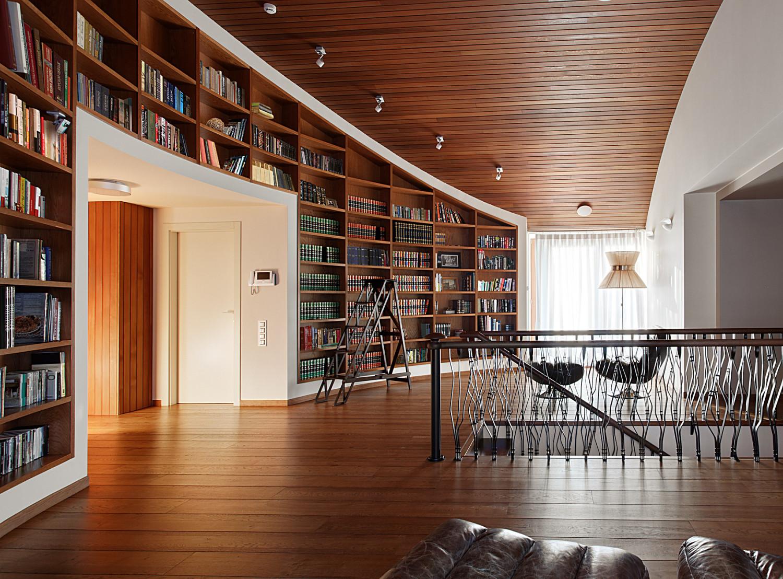 КВ Бюро Загородный дом в подмосковье библиотека