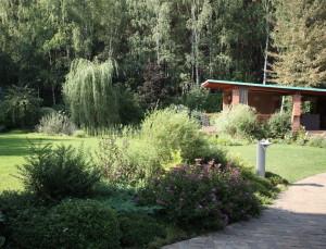 КВ Бюро Загородный дом в подмосковье сад