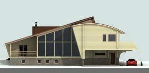КВ Бюро Проект дома из клеёного бруса