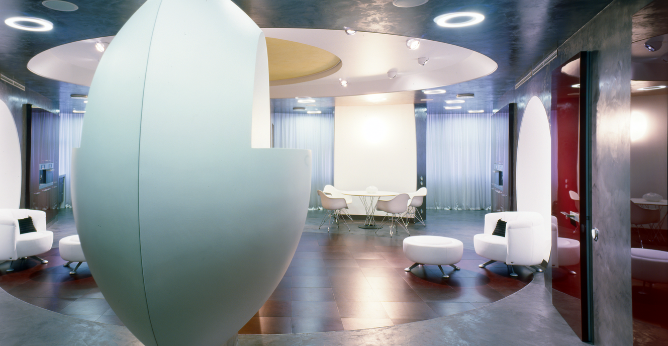 КВ БЮРО Архитектурное бюро фото проектов Квартира на проспекте Маршала Жукова футуристический дизайн