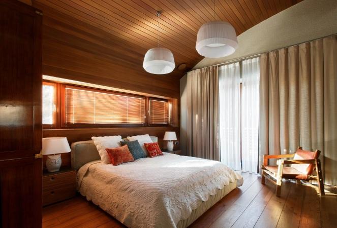 проект спальни в загородном доме